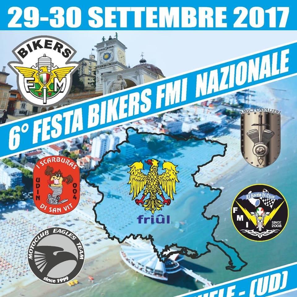 6°Festa Bikers Nazionale FMI -Villanova (UD)