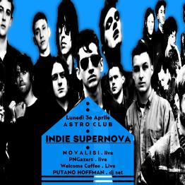 INDIE Supernova @ Astro Club – Fontanafredda (PN)